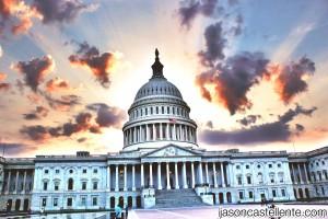 US Capitol Sunset - Jason Castellente Canon T2i